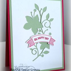 How to Recycle Negative Die Cuts in Handmade Cards