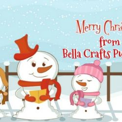 Merry Christmas from Bella Crafts Publishing