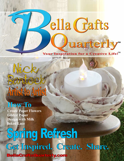 Bella Crafts Quarterly Spring Refresh 2014 | @bellacraftsq