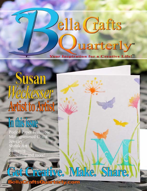 Bella Crafts Quarterly Summer 2014