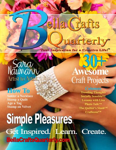 Bella Crafts Quarterly Winter 2013 Edition | @bellacraftsq
