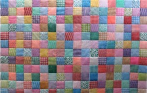 Stamped Quilt by Ann Butler