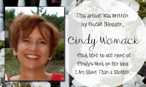 Bella Crafts Guest Blogger Cindy Womack