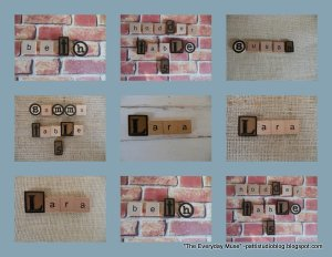 DIY Place Cards and Camera Tips