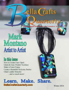Bella Crafts Quarterly is Here!