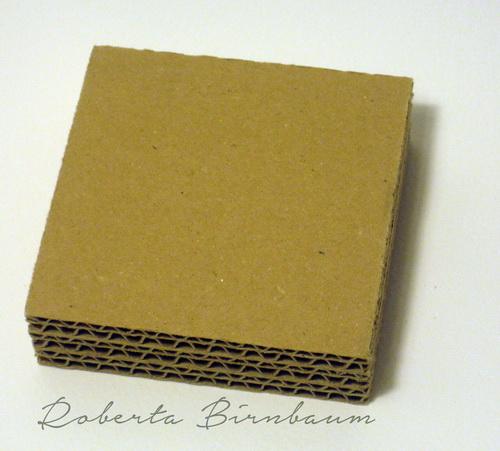 Mini Cardboard Mixed Media Canvas