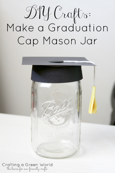 Graduation Cap Mason Jar-#1