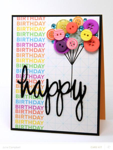 5 Festive Homemade Birthday Cards