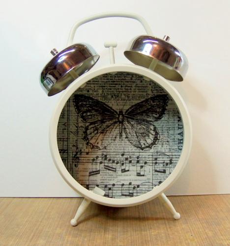 Altered Clock Daniella Hayes Artistic Transformation