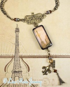 Paris in Fall Necklace