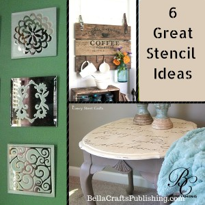 Using Stencils in Your Home Decor Projects