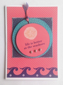 Life is Better at the Seashore Greeting Card