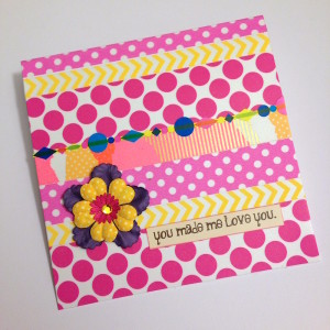 Washi Tape Greeting Card