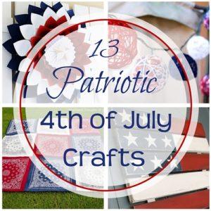 13 Patriotic 4th of July Crafts