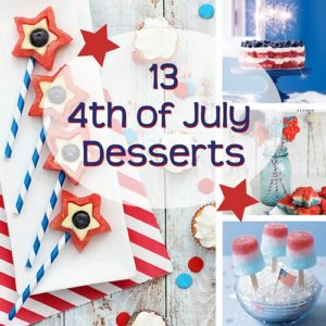 13 4th of July Desserts