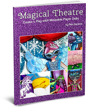 Rita Barakat Magical Theatre Create and Play with Movable Paper Dolls