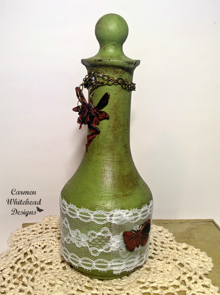 Shabby Chic Altered Bottles Bella Crafts Publishing