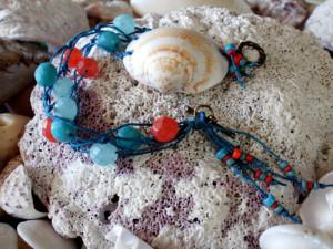 Knotted Shell Bracelet