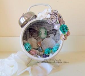 Artistic Transformation: Altered Clock
