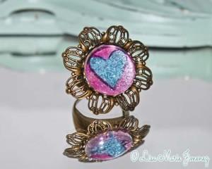 Glitter Glamour Ring