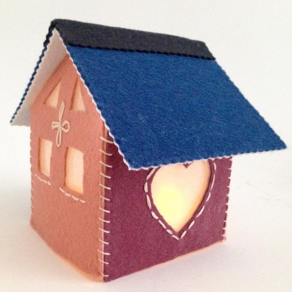 felt house luminary light lisa fulmer