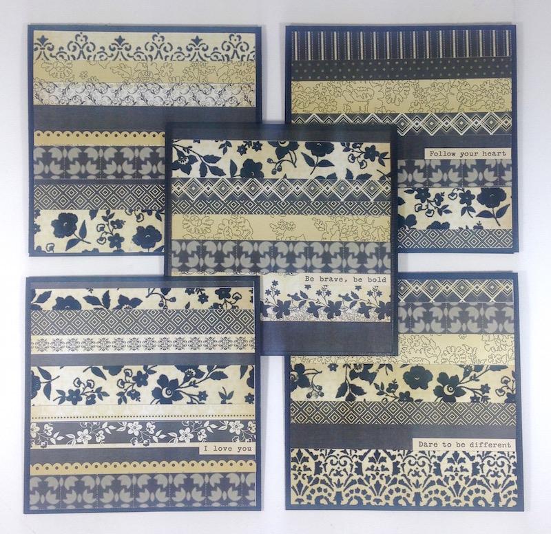 black cream greeting cards lisa fulmer