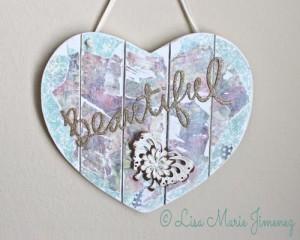 Beautiful Heart Wall Decor