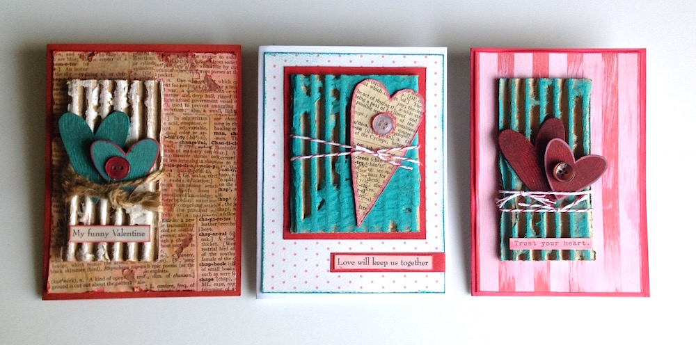 mixed media greeting cards lisa fulmer